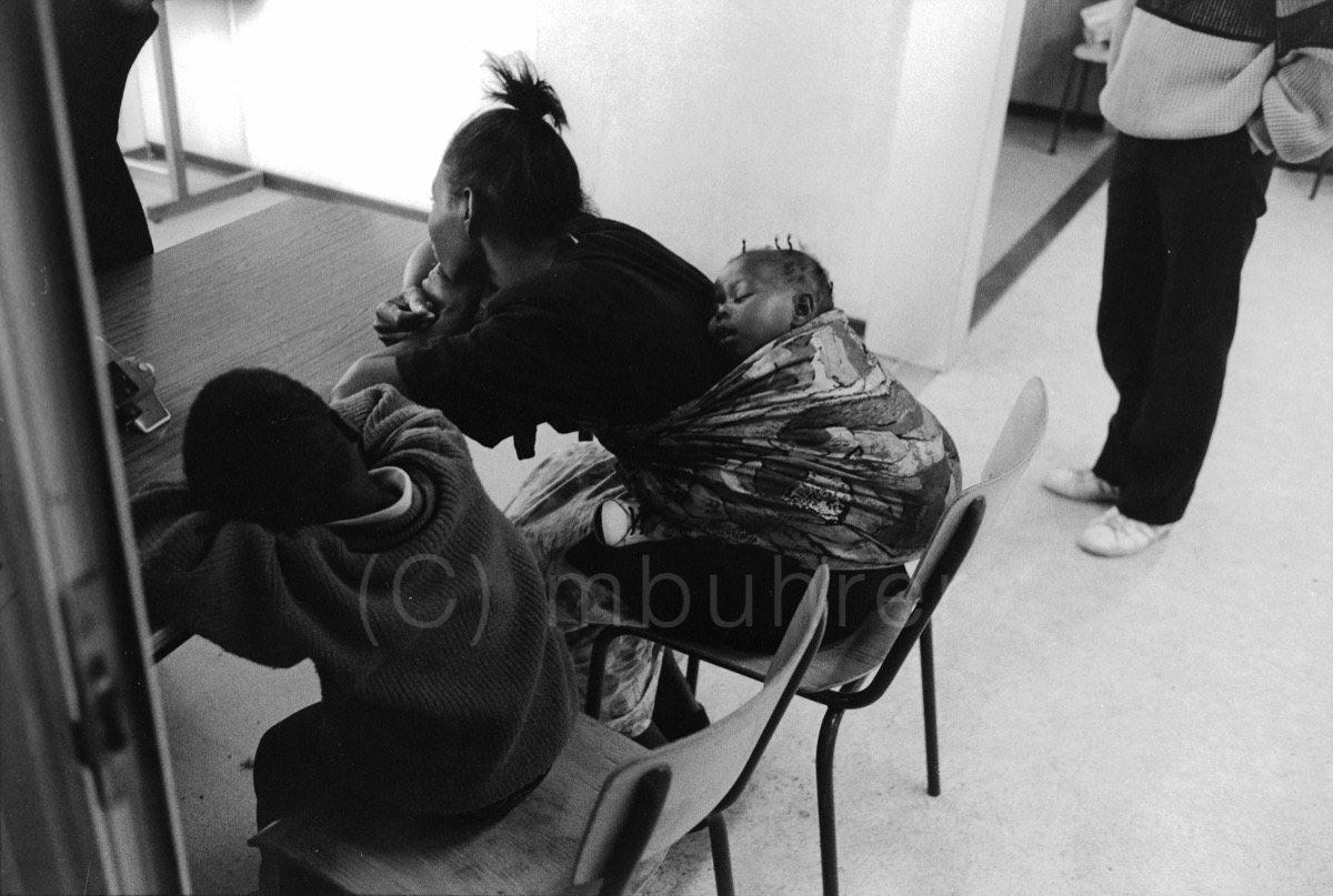 Centre d'enregistrement des requérants d'asile/Asylum seekers registration center, Geneva (CH), 10.09.1991