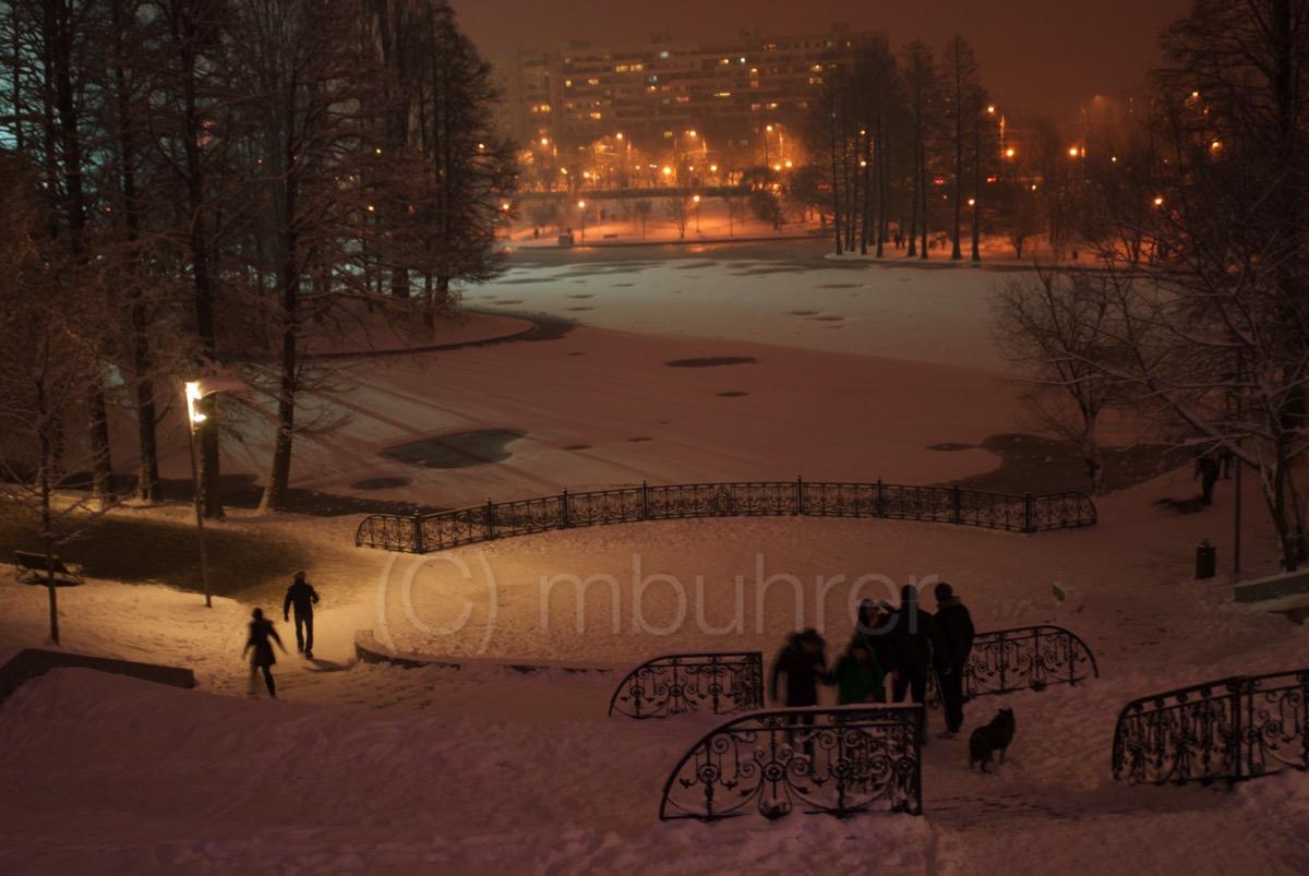 Parc Titan, Bucarest (RO), 01.2011